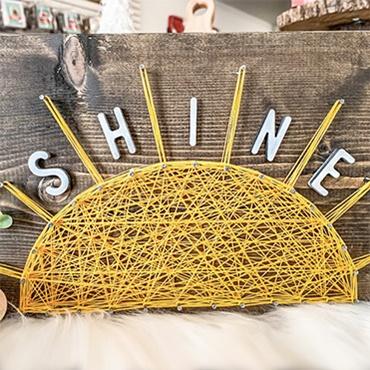 Shine String Art